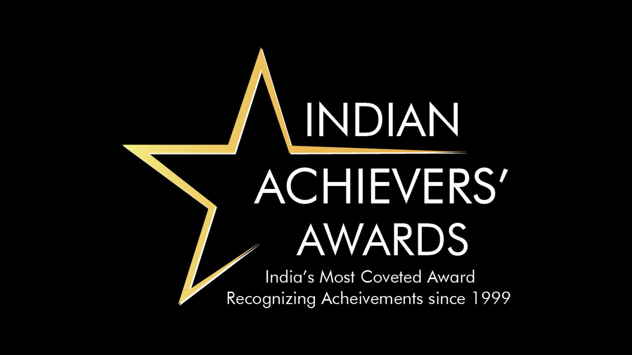 Nidhi Sharma - Indian Achievers Award